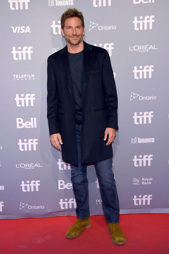 bradley cooper, a star is born photo call, toronto international film festival,