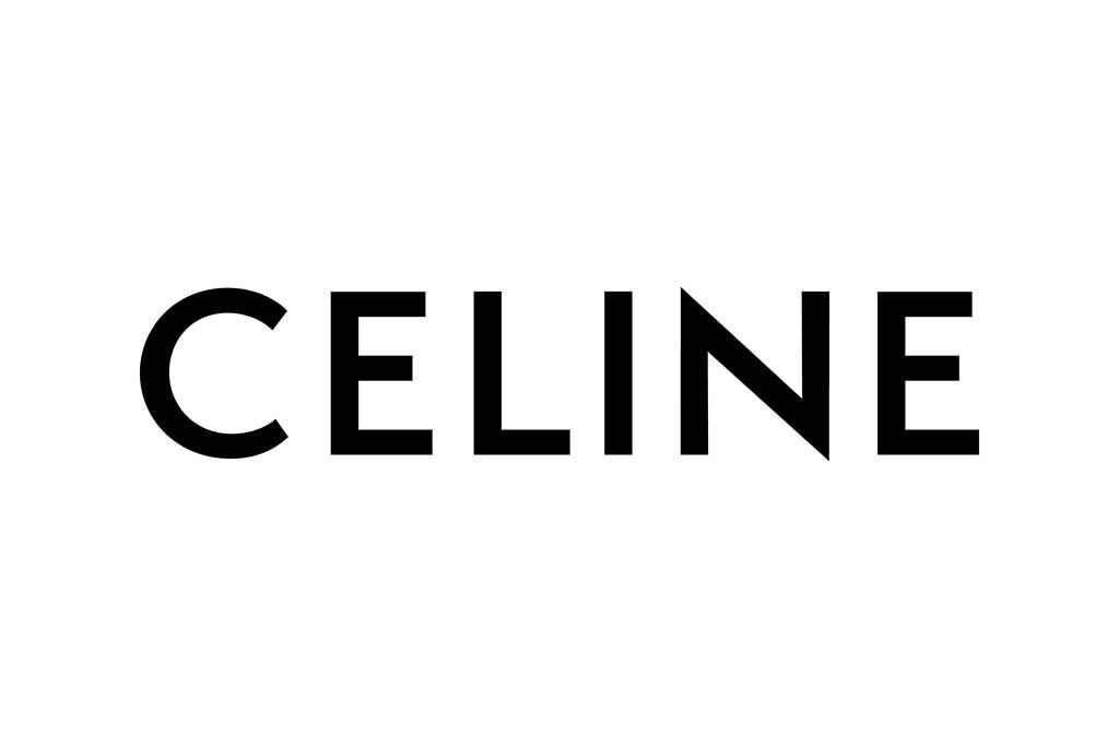 The new Celine logo.