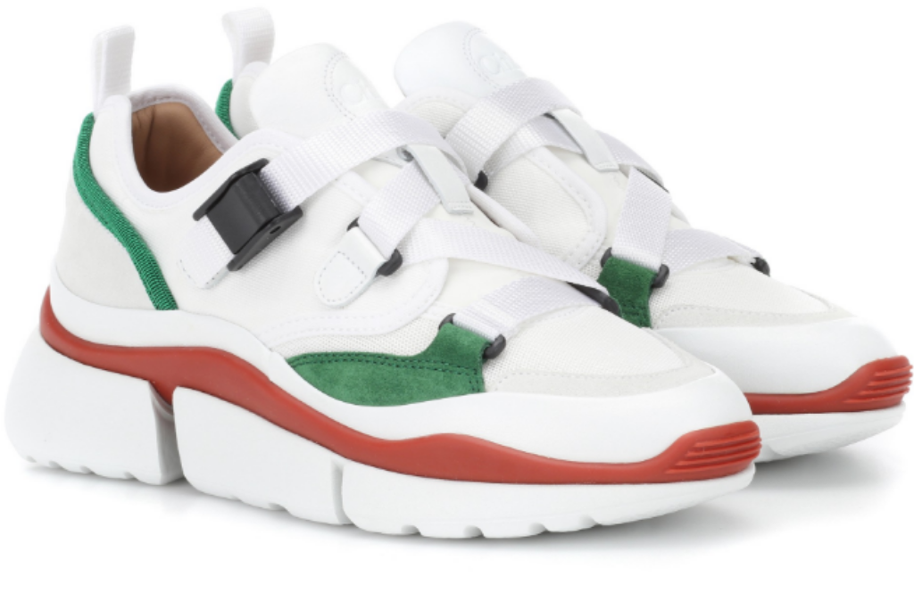 chloe sonnie fashion sneakers fall 2018