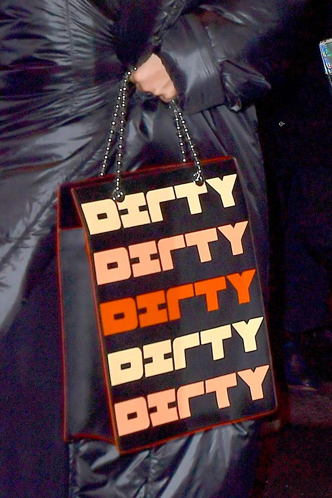 christina aguilera, dirty purse, fashion