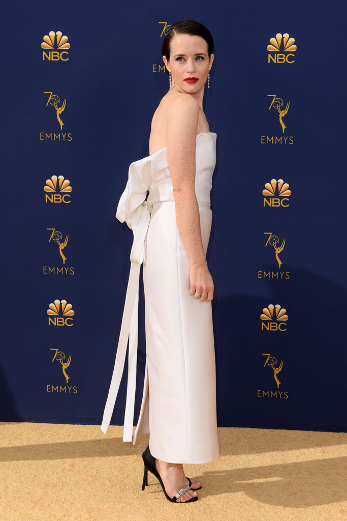 Claire Foy, Emmy Awards, red carpet