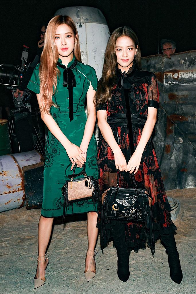 Rose, Jisoo, nyfw, Coach 1941 show, New York Fashion Week, USA - 11 Sep 2018