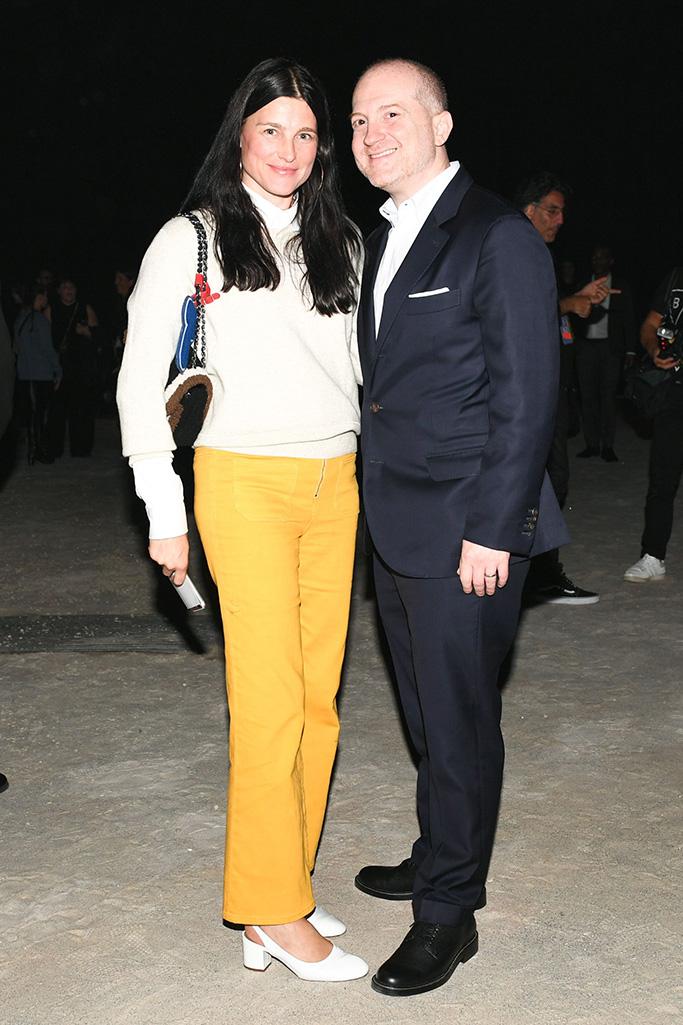 Tabitha Simmons, Joshua SchulmanCoach 1941 show, New York Fashion Week, USA - 11 Sep 2018