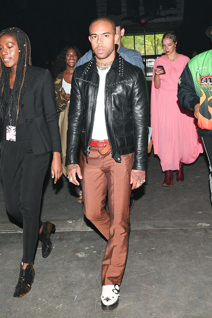 Vic Mensa Coach 1941 show, New York Fashion Week, USA - 11 Sep 2018