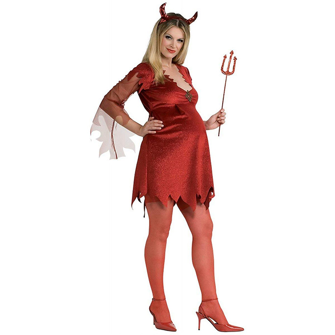 Rubies Mother to be Devil Costume