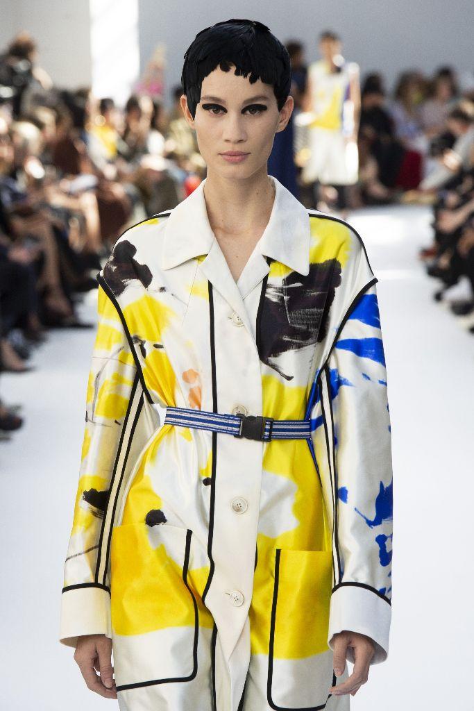 dries van noten spring 2019 yellow color trend