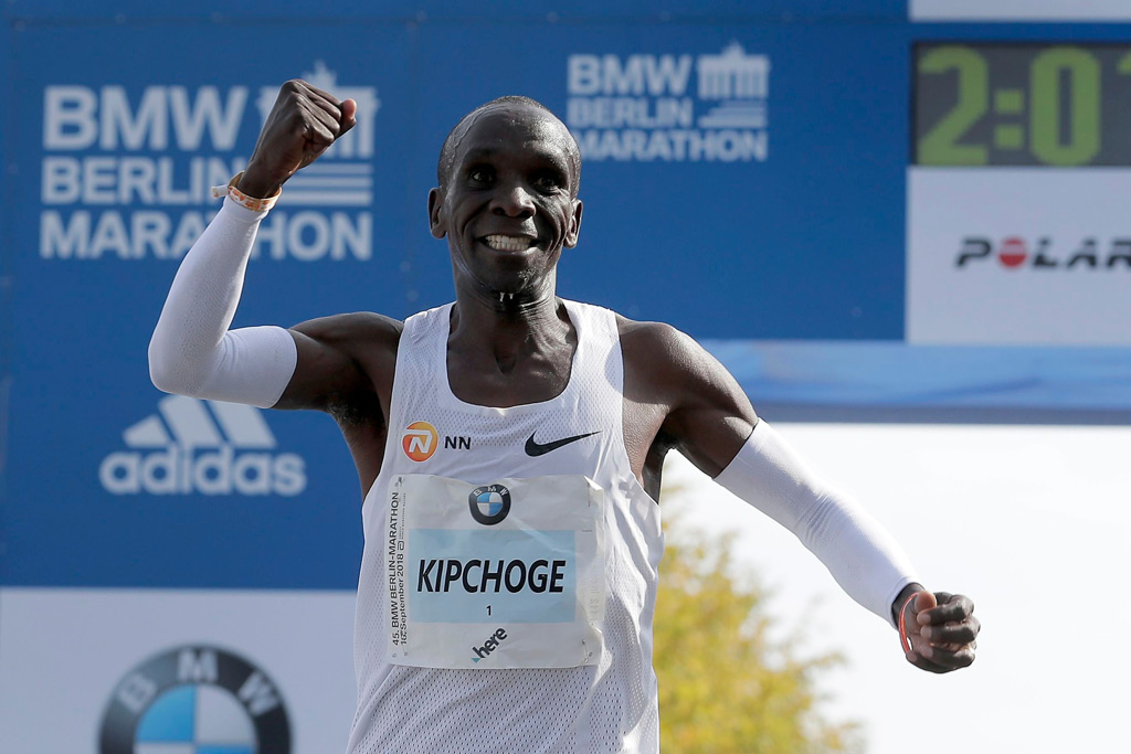 Nike Runner Eliud Kipchoge Sets New
