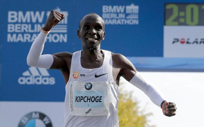 Eliud Kipchoge, berlin marathon runner, world record
