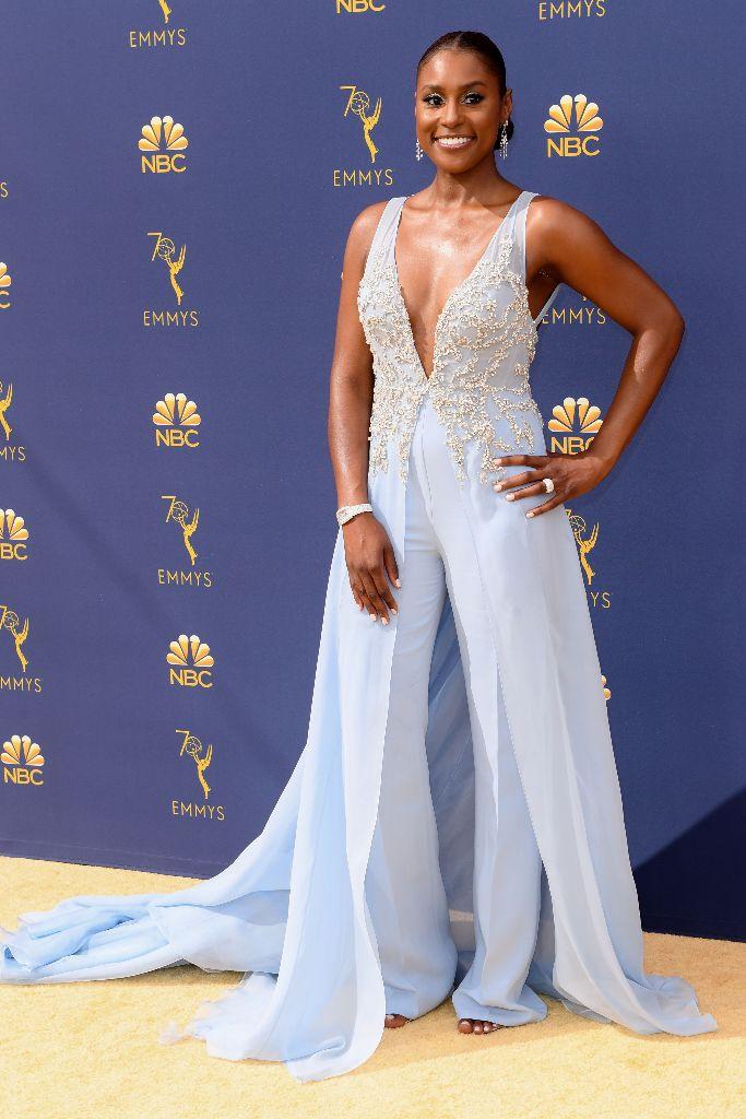 70th Primetime Emmy Awards Red Carpet, issa rae, best dressed, celebrity style