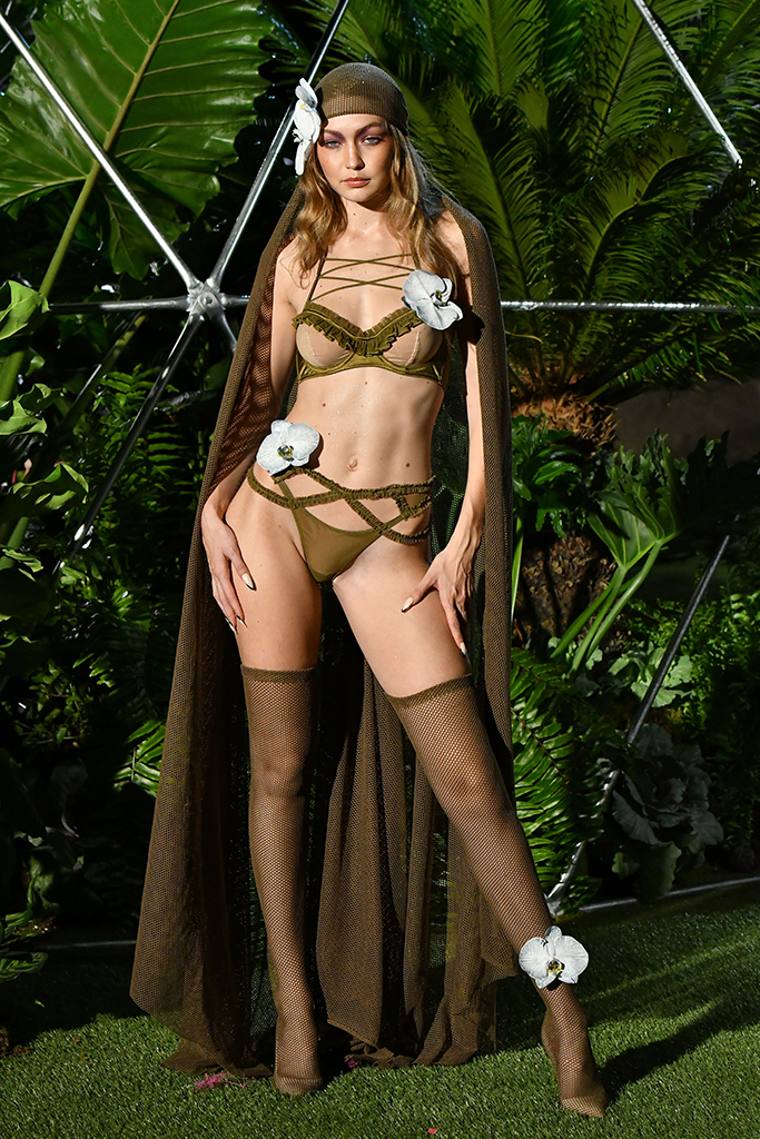 Gigi Hadid Savage X Fenty NYFW
