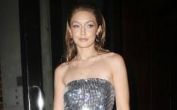 Gigi Hadid Wears a Sheer Jumpsuit