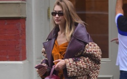 Gigi Hadid Steps Out in Perfect-for-Fall