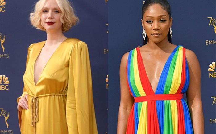 Gwendoline Christie, Tiffany Haddish, emmy awards, worst dressed