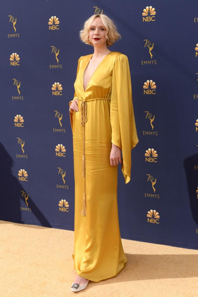 Gwendoline Christie, red carpet, emmys , worst dressed
