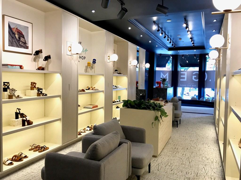 M. Gemi, Newbury Street, BOston fit shop
