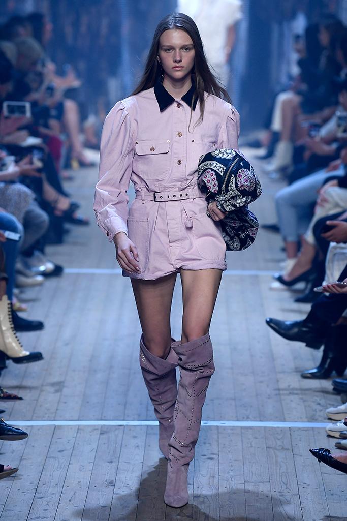 Isabel Marant show, Runway, Spring Summer 2019, Paris Fashion Week, France - 27 Sep 2018