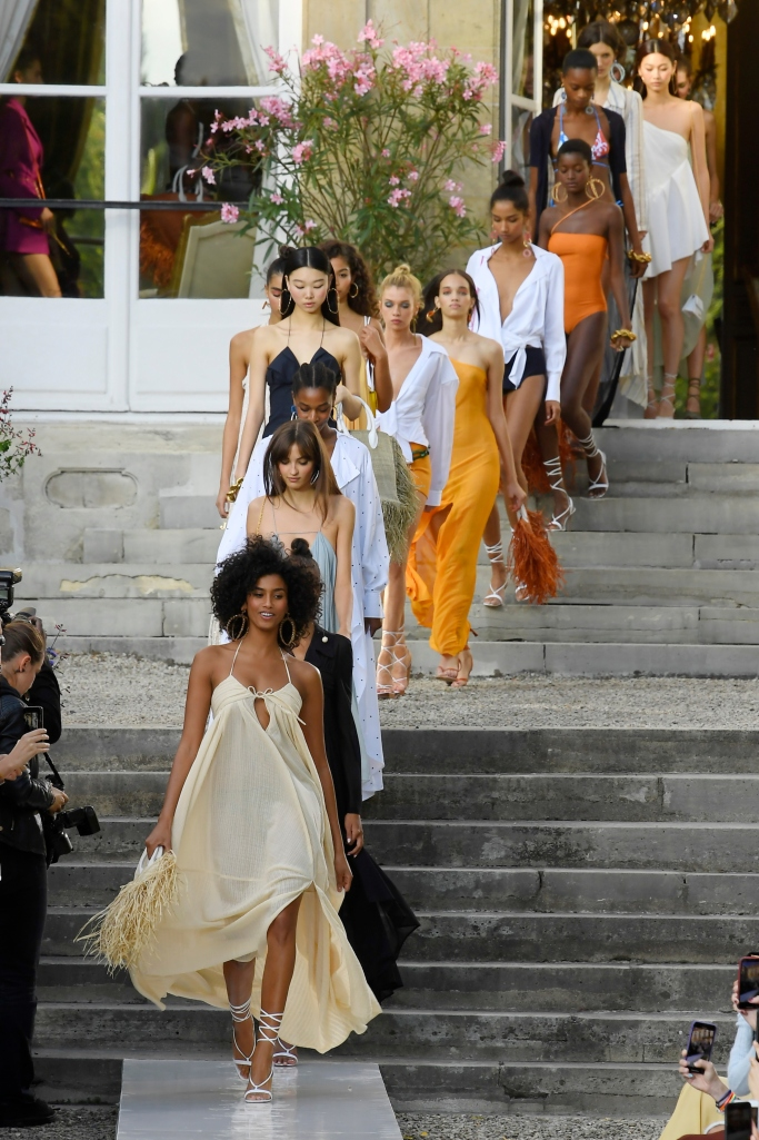jacquemus spring 2019, paris fashion week