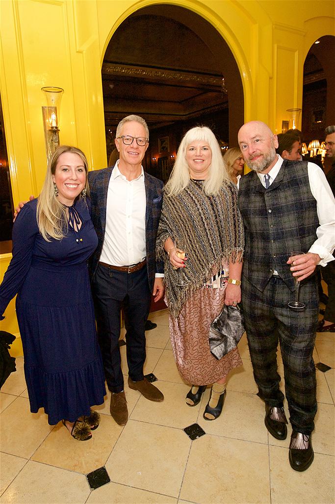 Katie Doolin Lloyd, Andy Rubin, Eileen Tetreault, John Hesser