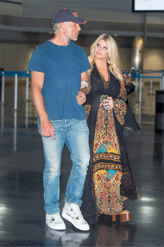 Jessica Simpson's Pregnant, but She Is