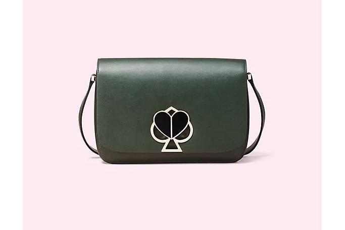 Nicola Twistlock Medium Shoulder Bag.