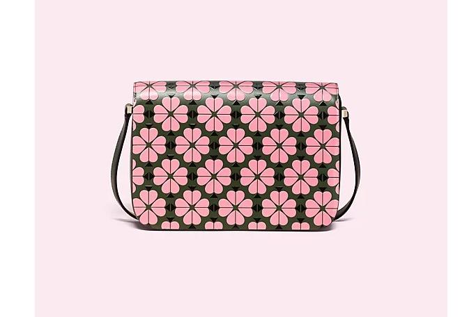 Nicola Floral Spade Medium Shoulder Bag