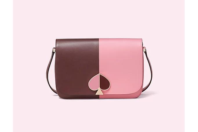 Nicola Bicolor Medium Shoulder Bag
