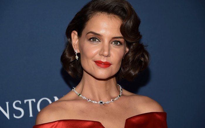 """Katie Holmes attends The Harry Winston """"New York Collection"""" unveiling party at the Rainbow Room, in New YorkThe Harry Winston """" Collection"""" Party, New York, USA - 20 Sep 2018"""
