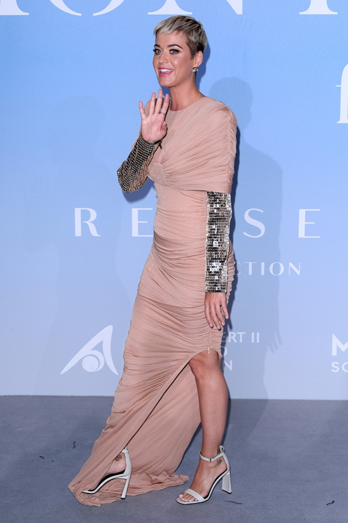 Katy Perry Monte Carlo Gala for the Global Ocean, Opera de Monte-Carlo, Monaco, France - 26 Sep 2018 Hosted by Prince Albert II of Monco. Proceeds supporting the foundation's initiatives in sustaining the world's oceans