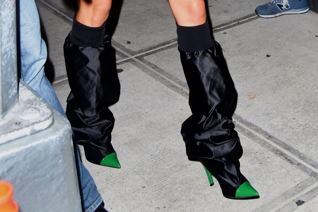 Kendall Jenner, boots, Alexandre Vauthier, style, Fashion Week, NYFW