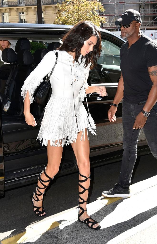 Kendall Jenner, Longchamp