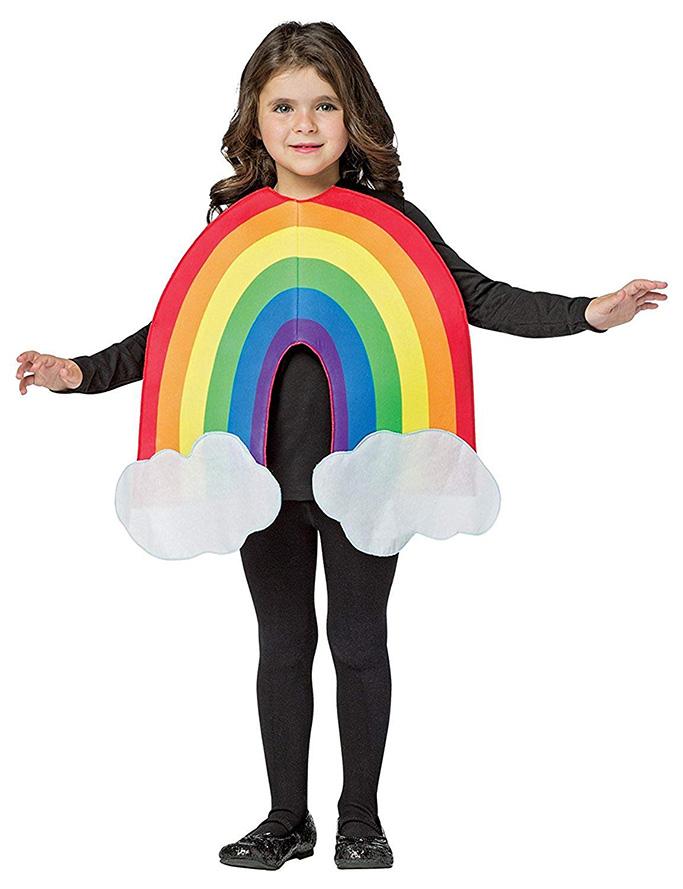 Rasta Imposta Child's Rainbow Costume