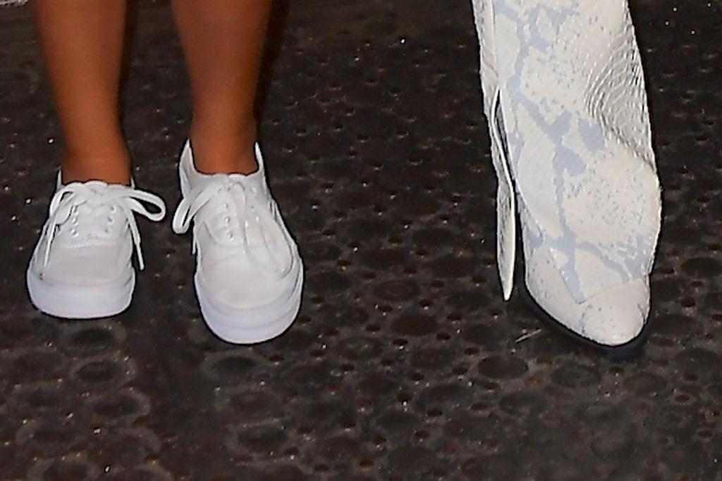 North West, Kim Kardashian, sneakers, boots