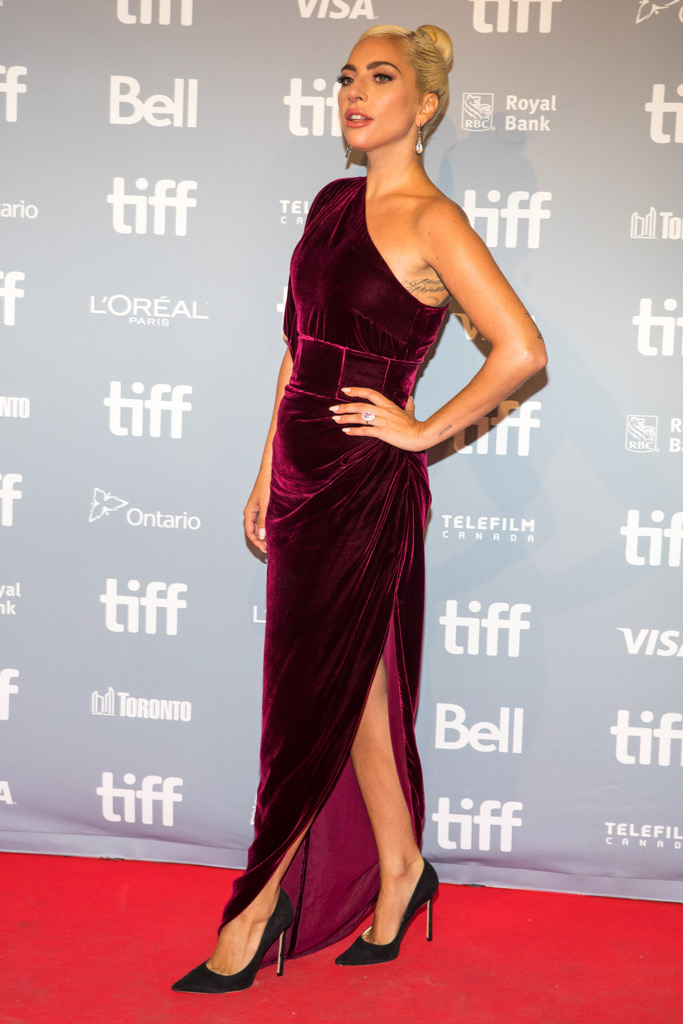 Lady Gaga, a Star is born press conference toronto international film festival photo call