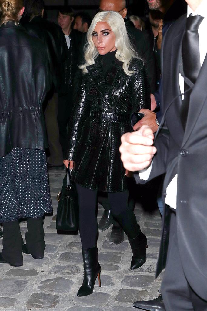 Lady GaGa Celine show, Arrivals, Spring Summer 2019, Paris Fashion Week, France - 28 Sep 2018