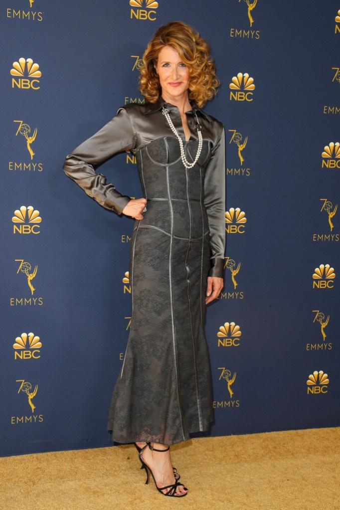 Laura Dern, red carpet, emmy awards