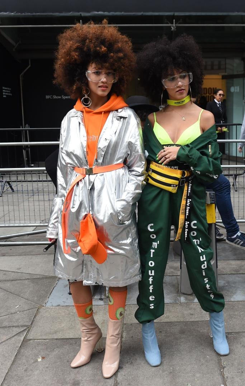 london fashion week, street style, spring '19, LFW