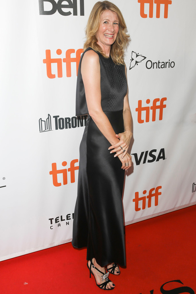 Laura Dern, red carpet, toronto international film festival
