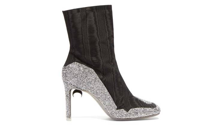 Marine Serre / Nicholas Kirkwood x Matches Fashion exclusive boot.