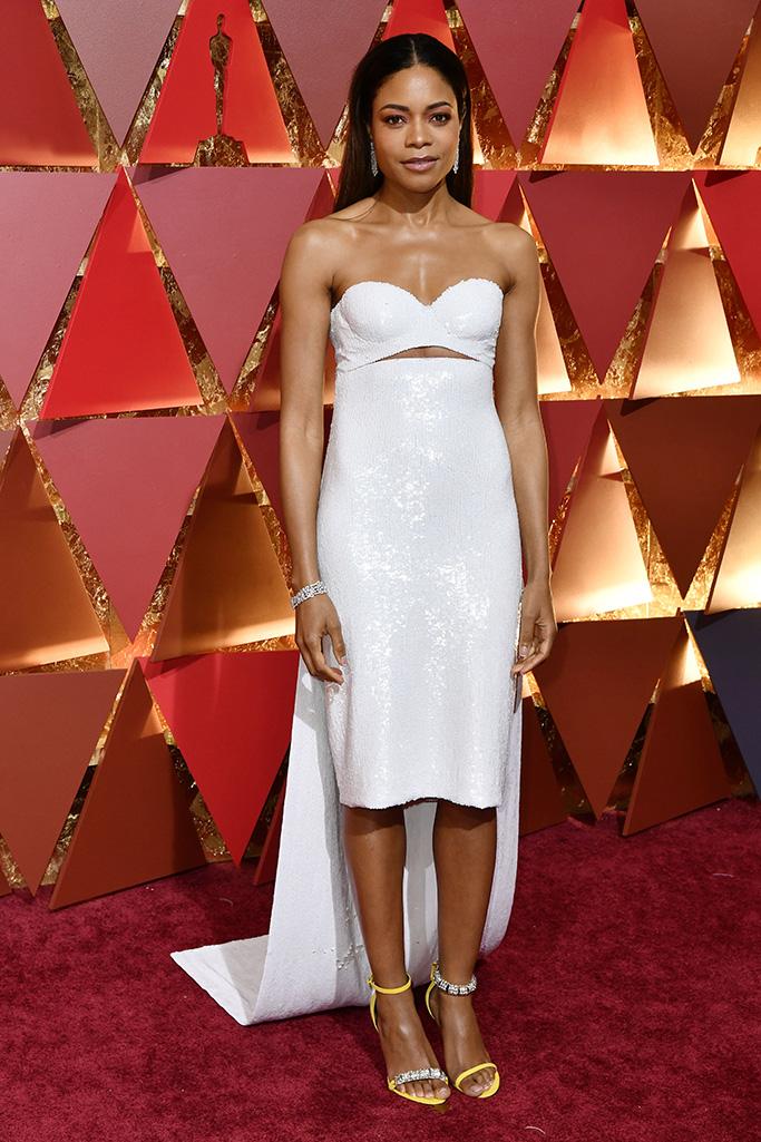 Naomie Harris89th Annual Academy Awards, Arrivals, Los Angeles, USA - 26 Feb 2017WEARING CUSTOM CALVIN KLEIN