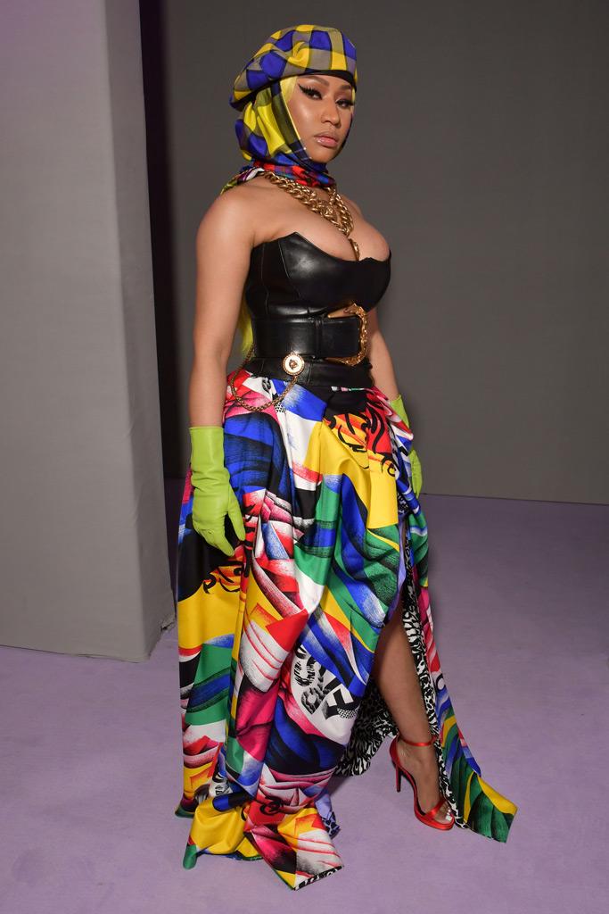 Nicki Minaj, spring 2019, runway, mfw