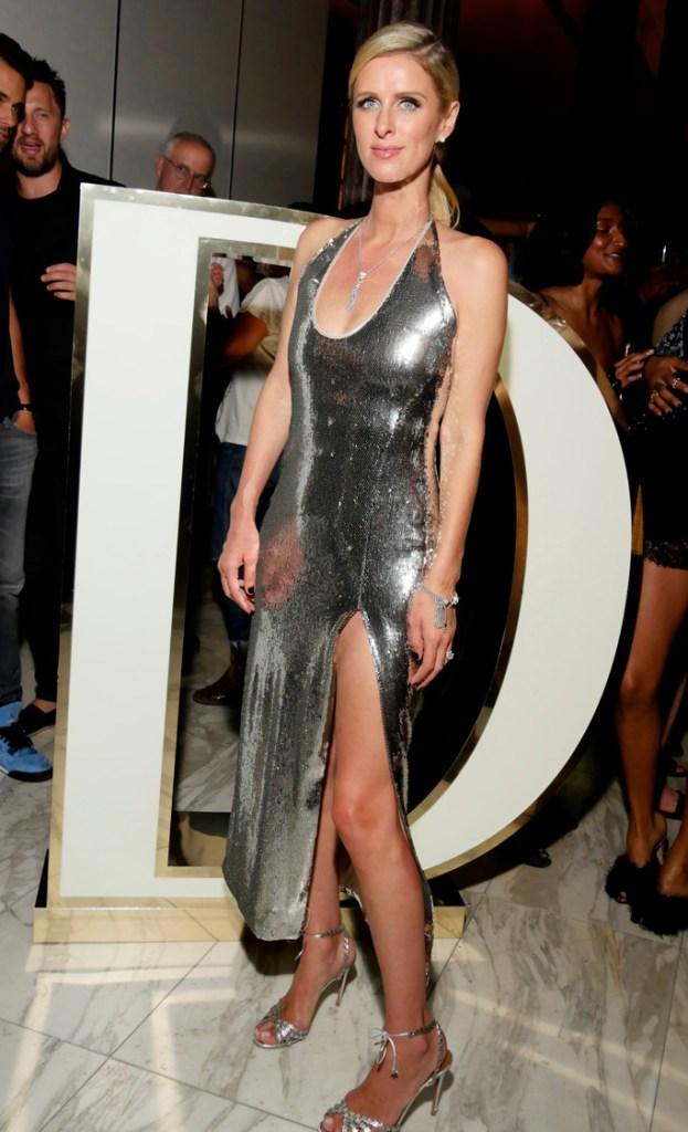 Nicky Hilton, dundas, new york fashion week, nyfw
