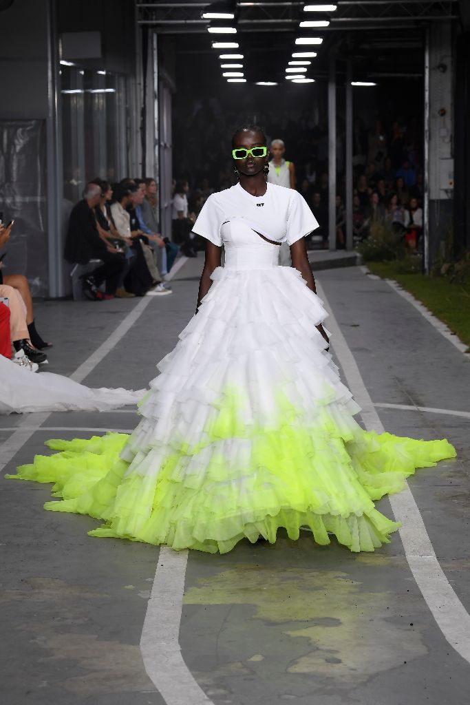 off-white spring 2019 neon trend