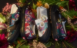 Satin Floral Pack Vans Opening Ceremony