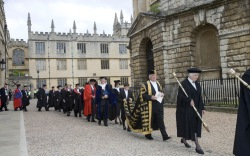 Oxford university, degree ceremony, graduation