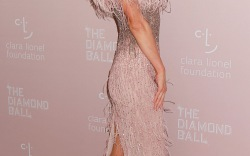 Celebrities at Rihanna's Diamond Ball
