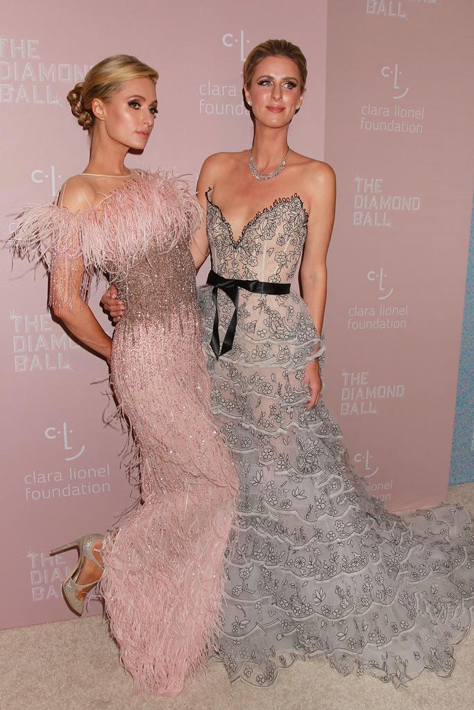 paris, nicky hilton, diamond ball, red carpet, fashion