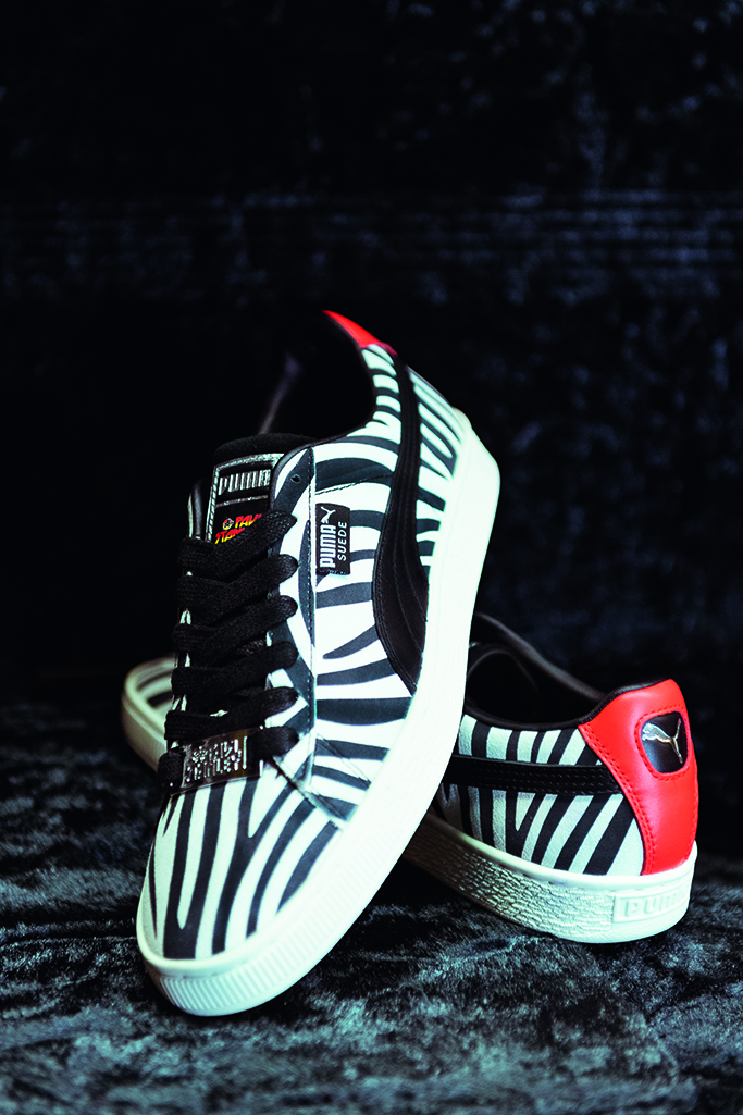 puma, paul stanley, the suede