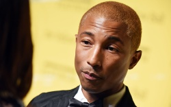 Pharrell Williams The Yellow Ball, Arrivals,