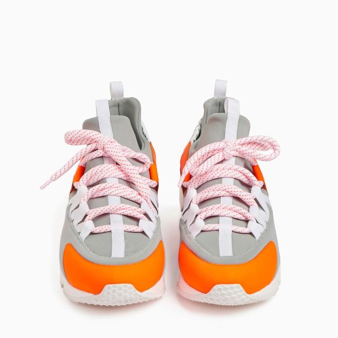 pierre hardy, sneaker, limited edition, neon trek comet