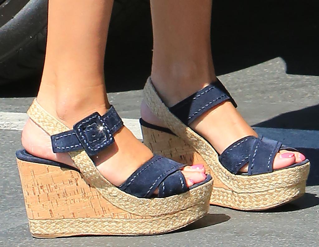 prada suede platform wedge sandal, reese witherspoon